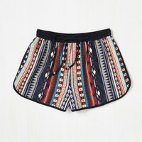 Pattern Up the Volume Shorts | Mod Retro Vintage Shorts | ModCloth.com