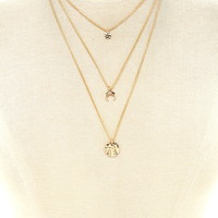 Dimpled Layered Necklace