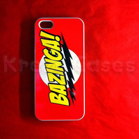 Iphone 5 Case, New iPhone 5 case The Big Bang Theory BAZINGA iphone 5 Cover, iPhone 5 Cases, Case for iPhone 5