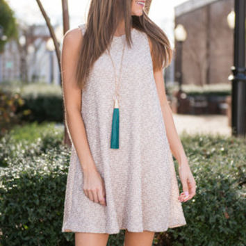 Enroll In Classy Dress, Taupe