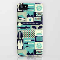 Supernatural iPhone & iPod Case by Risa Rodil