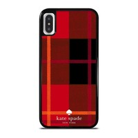KATE SPADE NEW YORK RED iPhone X / XS case