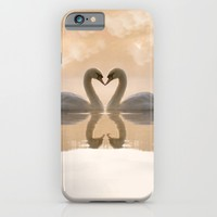 Love of swans iPhone & iPod Case by Ylenia Pizzetti | Society6