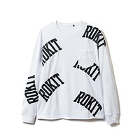 Banner Longsleeve in White