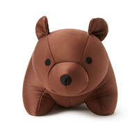 FOREVER 21 Bear-Shaped Neck Pillow Brown One