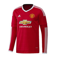 Adidas Manchester United Home 15 16 Longsleeve Jersey