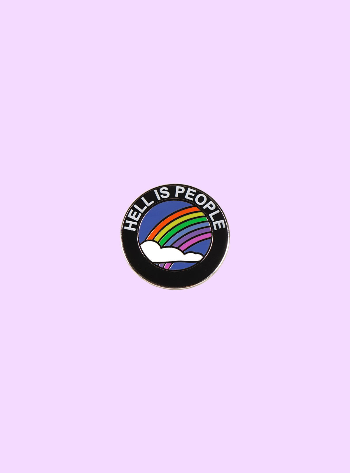Image of Hell Is People Pin