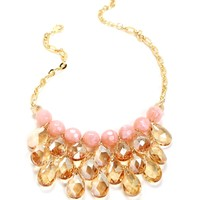 Pink Chandelier Necklace