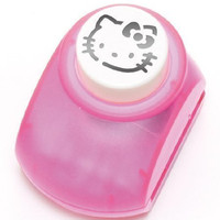 Hello Kitty Craft Paper Punch of Kitty's Face