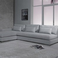 Ash Modern Fabric Sectional Sofa