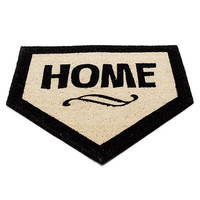 HOME PLATE DOORMAT | Mat, Baseball, Sports | UncommonGoods