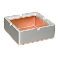 Visol Hatter Square Metal Cigarette Ashtray