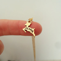 """Severus Snape """"Always"""" Doe Patronus Necklace - Harry Potter & The Deathly Hallows Inspired Geekery"""