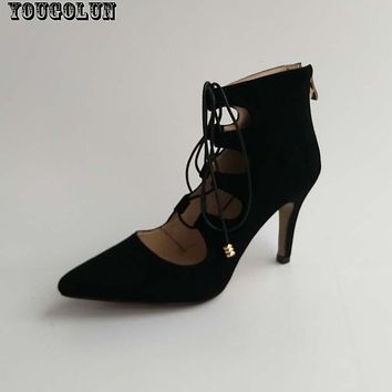 Elegant Thin Heel  Shoes