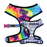 Frenchie Duo Reversible Harness - Tie Dye