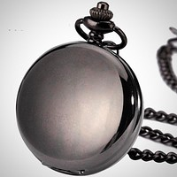 Vintage Pocket Watch Steampunk Mechanical Skeleton Pocket Watch
