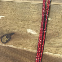 Ole Red Dazzled Lanyard