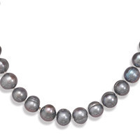 18in x 2in Extension Peacock Cultured Freshwater Pearl Necklace