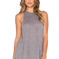 RVCA Label Tank in Athletic Heather