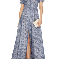 Lurex Eyelet Bottoncini Dress | Moda Operandi