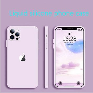 Apple 12 lens full package for iphone11promax anti-drop simple mobile phone case