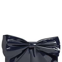 Valentino 'Lacca Bow' Flap Clutch