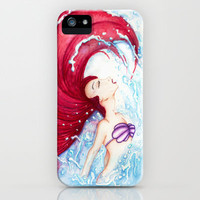 Ariel iPhone & iPod Case by Susaleena