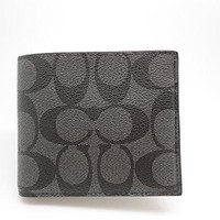 Coach Mens Double Bill Signature Wallet