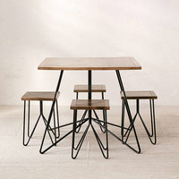 Miles Dining Table Set - Urban Outfitters