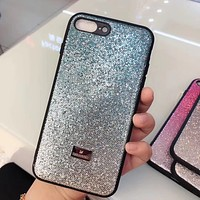 Swarovski Fashion iPhone Phone Cover Case For iphone 6 6s 6plus 6s-plus 7 7plus 8 8plus iPhone X XR XS XS MAX