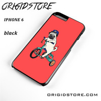 Pug Bicycle For Iphone 6 Case UY
