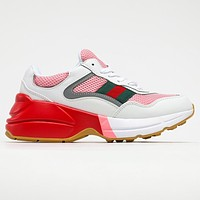 GG G Rhyton High Quality Sneakers Shoes
