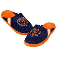 PEAPYD9 CHICAGO BEARS MEN'S OFFICIAL NFL JERSEY SLIPPERS