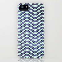 Chevron With A Twist iPhone Case by Chris Klemens | Society6