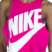 NTF CROP SLEEVELESS WORK OUT TOP - Pink - NIKE