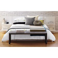 andes white full bed