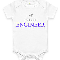Cute Future Engineer Baby Clothes Infant Bodysuit Jumper Baby Shower Gift idea Funny New Mom Christmas Pregnant Gift for Professional Math