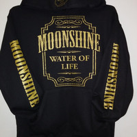 Pullover Hoodie - Moonshine - Exclusive GOLD Print