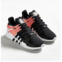 Adidas Equipment EQT Support ADV Popular Unisex Personality Running Sports Shoes Sneakers Black Pink I