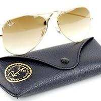 Ray-Ban RB3025 001/51 Unisex Aviator Sunglasses Gradient