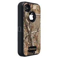 OtterBox Defender Series Case for iPhone 4/4S - Retail Packaging - Realtree Camo - Black/Max 1