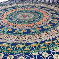 Elephant Mandala Tapestry, Hippie Tapestries, Wall Tapestries, Tapestry Wall Hanging, Indian Tapestry, Bohemian Bedding Psychedelic tapestry Size 60 x 85 Inch's