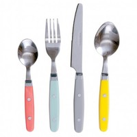 Colour Block Cutlery Set
