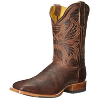 Cinch Mens Leather Work Cowboy, Western Boots