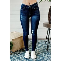 KanCan Caitlin Dark Wash Denim Jeans