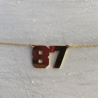 Personalised Best Year Ever Chain
