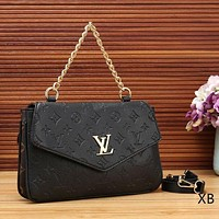 Louis Vuitton Fashion Women New Satchel Monogram Leather Chain Crossbody Shoulder Bag Handbag