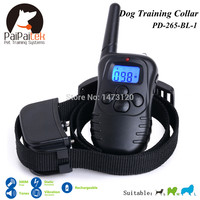 Pet Products Rechargeable Electric collar training Remote Manual Control Dog Collar Shock+Vibra+Electric Bark Control Remote Dog