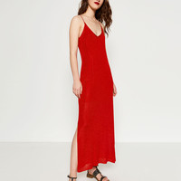 LIMITED EDITION DOUBLE STRAP DRESS