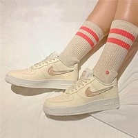Nike air force 1 women's jelly gradient hook casual sneakers shoes